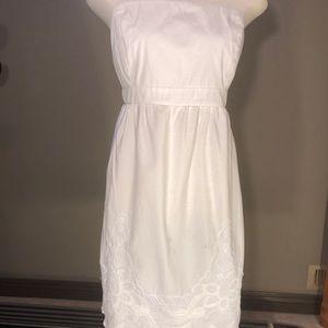 Old Navy Strapless Cotton Dress